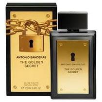 The Golden Secret Antonio Banderas Edt 100 Ml -100% Original