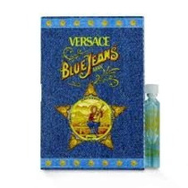 Amostra Versace Blue Jeans Man Edt 1,6ml ( Frete Grátis)
