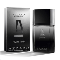 Perfume Azzaro Pour Homme Night Time 100ml Eau De Toilette