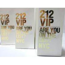 Perfume 212 Vip Fem 80ml Carolina Herrera - Importado Usa