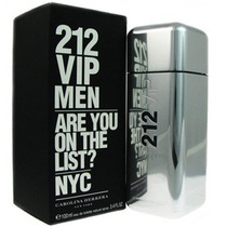 Perfume 212 Vip Men Carolina Herrera 100ml Importado Usa