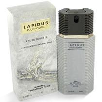 Perfume Lapidus Pour Homme 100ml Original A Pronta Entrega