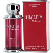 Perfume Spray Thallium Women Paris 100ml Importado França