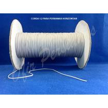 Corda Para Persiana Horizontal Alumínio - Valor Por Metro