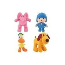 Pocoyo Kit Com 4 Personagens 15 A 28cm A Pronta Entrega!