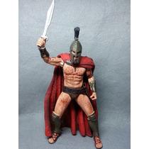 Boneco Rei Leonidas 300 Action Figure 18 Cm - Frete Grátis