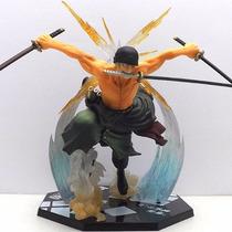 Action Figure, Banpresto - One Piece Roronoa Zoro 18cm.