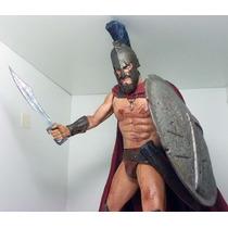 Neca 300 Rei King Leonidas Figura 30cm Filme 100% Frank Dc