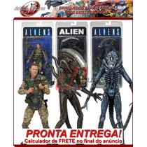 *cnaf* Aliens Série 2: Set Completo - Pronta Entrega! Neca