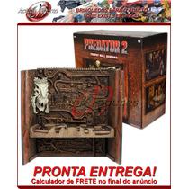 *cnaf* Predator 2: Trophy Wall Diorama Neca Pronta Entrega!