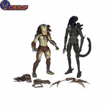 Alien Vs Predador (2 Pack) - Com Mini Comic - Neca