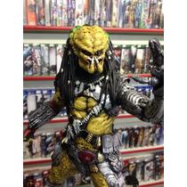 Estatua Resina Predador Máscara Removível Filme 33cm