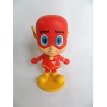 Boneco De Vinil Herois Dc Flash E Aquqman Pequenos