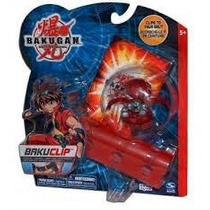 Bakugan Baku Clip + Cards - Long Jump - Lacrado!!!