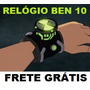 Ben10 Ben Dez Relogio Omnitrix Com Hora Luz E Sons Frete Off