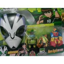 Mascara Do Rook E Boneco Serie Ben 10 Brinquedo Damadores