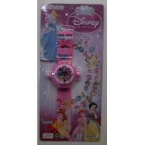 Relogio Projetor Princesas Hello Kit Frozen 24 Imagens