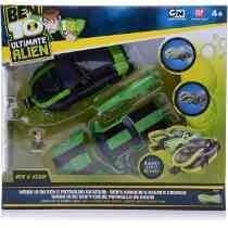 Toy Bandai Ben 10 Ben Mark 10 E Kevin Cruiser
