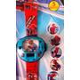 Relógio Do Homem Aranha Infantil Projetor 24 Imagens + Temas