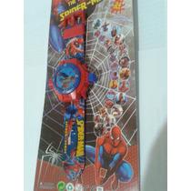 Relogio Projetor Com Imagens Do Homem Aranha