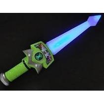 Espada Sonora Ben 10 Som E Luz Alien Force +frete Gratis