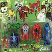 Ben 10 Omniverse 6 C/ 5 Bonecos À Escolha!