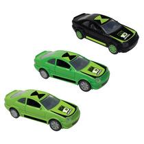 Carrinhos Ben 10 Kit Com 3 Carros Tork Coleção