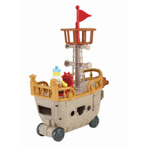 Imaginext Bob Esponja Barco Pirata Fisher-price - Mattel