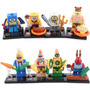 Bob Esponja - Similar Lego - Kit C/ 3 Peças - Pronta Entrega