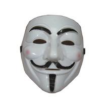 Mascara Anonymous Alta Qualidade Fantasia Fãs V De Vingança