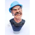 Sr. Madruga Bravo - Turma Do Chaves - Busto Em Resina