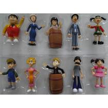 Coleção Completa Do Chaves Bonecos Da Turma