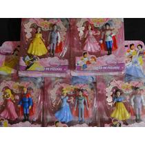 10 Bonecos Principes & Princesas Disney 05 Pares Romanticos