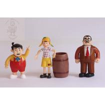 Bonecos Em Miniatura Turma Do Chaves * Varios Modelos