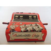 Brinquedo Antigo - Caixa Registradora De Lata - U S A - 1950