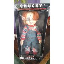 Boneco Chuck 70 Cm Na Caixa, Spencer, Stand E Fala Frases