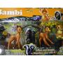 05 Bonecos Bambi Tambor Flor Bolo Festa Aniversario