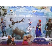 05 Bonecos Frozen Disney Princesa Boneca 10 Cm Altura