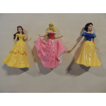 Princesas Disney Kit 3 Bonecas - Cod 02