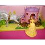 Princesa Bela E A Fera 12cm E Carruagem 27cm Do Castelo