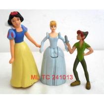 Branca De Neve - Cinderela - Peter Pan - Personagens Disney
