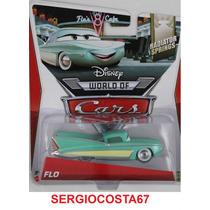 Disney Cars Flo + 300 Mod Cars Planes Frete Baixo - Sc67
