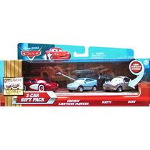 Disney Cars: Cruisin Mcqueen, Matti E Bert - Mattel - Pixar
