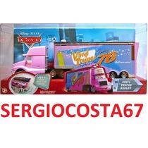 Disney Cars Vinyl Toupee Hauler Caminhao 76 Frete Barato