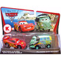 Disney Cars Carros - Lightning Mcqueen E Fillmore C/ Headset