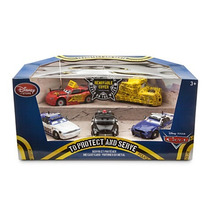 Cars 5 Pack Relâmpago Mcqueen Protect And Serve Disney Store