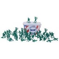 Balde Com 55 Soldados Toy Story Soldadinhos Alto Padrão Novo