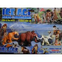 Coleção Com 04 Bonecos Da Era Do Gelo