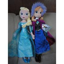 Elsa E Ana Frozen 50 Cm 2 Bonecas Original Disney St No Br