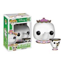Funko Pop Disney: Mrs Potts & Chip A Bela E A Fera